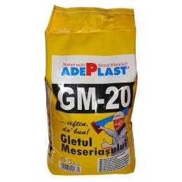 Шпаклевка финишная Adeplast GM-20 для внут.работ 5кг, Румыния.