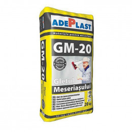 Шпаклевка финишная Adeplast GM-20 для внут.работ 20кг, Румыния.