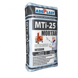 Штукатурно-шпаклевочная смесь Adeplasst MTI-25 на цементной основе, Серая 30кг, Румыния.