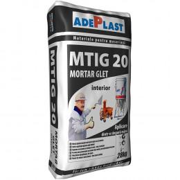 Штукатурно-шпаклевочная смесь Adeplasst MTIG-20 (Ротбанд Мульти-Финиш) 30кг, Румыния.