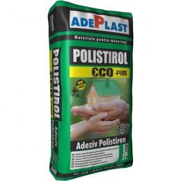 Штукатурно-клеевая смесь для пенополистирола Adeplast Polistirol-ECO 25кг, Румыния