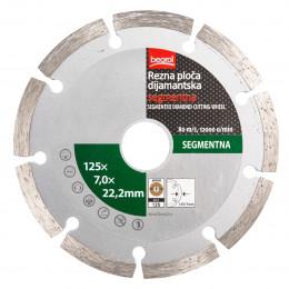 Алмазный диск сегментный 125 Beorol