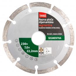 Алмазный диск сегментный 230 Beorol