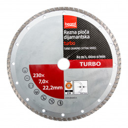 Алмазный диск TURBO 230 Beorol