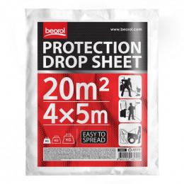 Защитная пленка 4x5м прозрачная