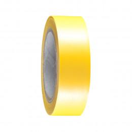 Изолента желтая 19мм 10м