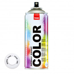 Спрей-краска акриловая глянцевая белая S1000 400мл