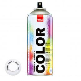 Спрей-краска акриловая матовая белая S1001 400мл