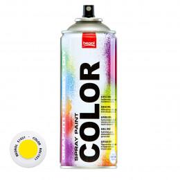 Спрей-краска акриловая желтая S1021 400мл