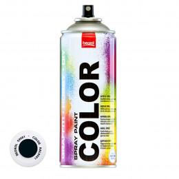 Спрей-краска акриловая матовая черная S9001 400мл