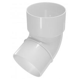 Колено Белое Elegance 140 100мм*67,5°, Devorex