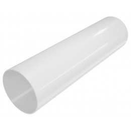 Труба Белая Elegance 140 100мм*3м , Devorex