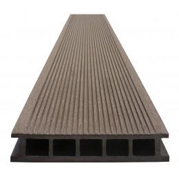 Террасная доска композитная Devorex коричневая 4м