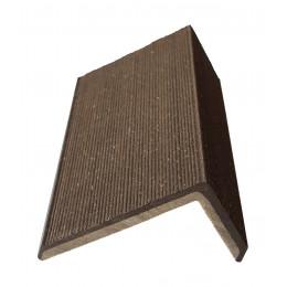 Уголок для террасной доски Devorex коричневый 3м