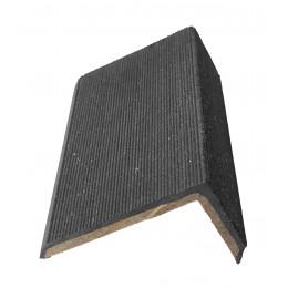 Уголок для террасной доски Devorex графит 3м