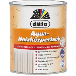 Акриловая эмаль для радиаторов белая 0,75л Dufa, Германия