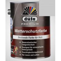 Акриловая эмаль серая 2,5л Dufa Wetterschutzfarbe, Германия