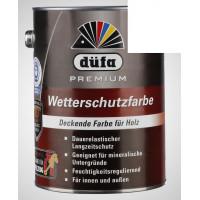 Акриловая эмаль белая 2,5л Dufa Wetterschutzfarbe, Германия