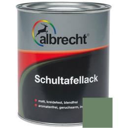 Эмаль для школьных досок Albrecht RAL6011 0,75л, Германия