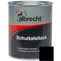 Эмаль для школьных досок Albrecht RAL9005 0,375л, Германия