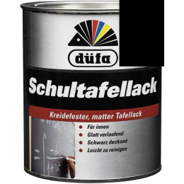 Эмаль для школьных досок Dufa RAL9005 0,375л, Германия