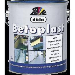 Эмаль düfa BETOPLAST для бетонных полов RAL3009 5л (Германия)