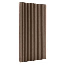 Террасная доска композитная светло-коричневая 4м (Россия)