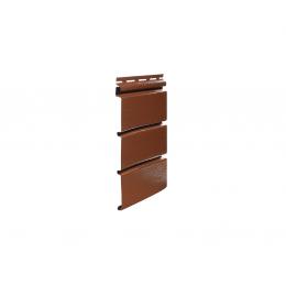 """SOFFIT панель """"глухая"""" шоколадная, 0,9м2"""