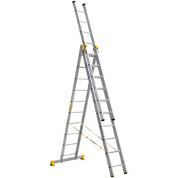 Лестница 3-х секционная (6,89м) Alumet