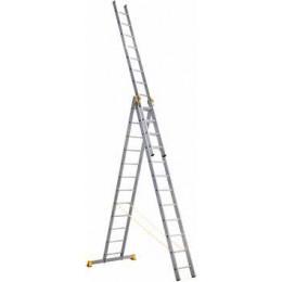 Лестница 3-х секционная (8,57м) Alumet