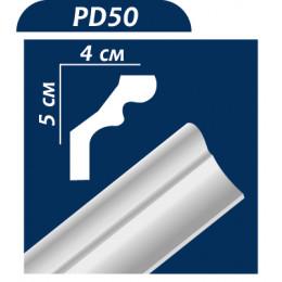 Плинтус потолочный PD50 2м
