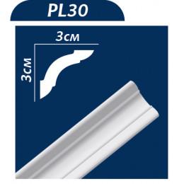 Плинтус потолочный PL30 2м