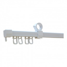 U-шина для тюли 1,2м Белый