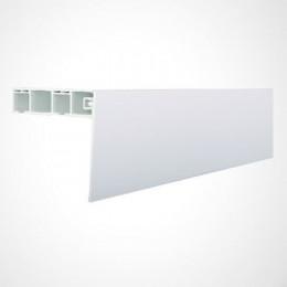 Накладка на карниз потолочный 1м (белая)