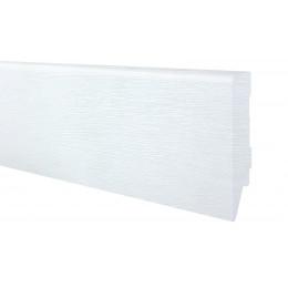 Плинтус МДФ Белый структура 100*2410*19