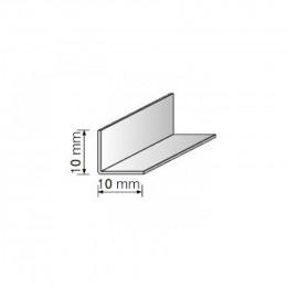 Угол декоративный 10х10 белый 2,75м