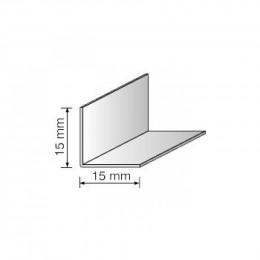 Угол декоративный 15х15 белый 2,75м