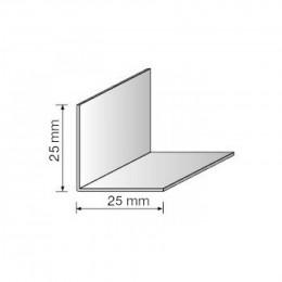 Угол декоративный 25x25 белый 2,75м