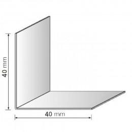 Угол декоративный 40x40 белый 2,75м