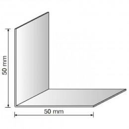Угол декоративный 50x50 белый 2,75м