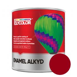 Эмаль ПФ-115 Polycolor 0,9кг Вишневая