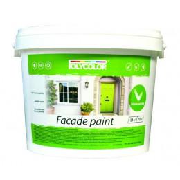 Polycolor Facade фасадная краска 12кг (Украина)