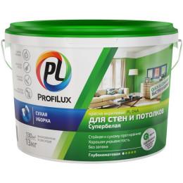 Краска Profilux PL-04А акриловая для стен и потолков, 1,4кг (Россия)
