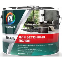 Эмаль для бетонных полов АК-118 серая 2,7кг, Profilux Россия