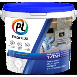 Клей-мастика Титан Profilux для печей и каминов 9кг