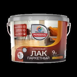Лак акриловый паркетный полуматовый PROFILUX 2,5л, Россия