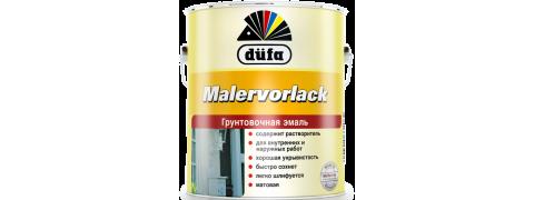 Эмаль грунтовочная düfa MALERVORLACK матовая белая, 2,5л